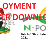 How to Download Npower Batch C PPA Deployment Letter Via NASIMS Portal 2021