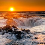 2nd Place Scenic - Thor's Well by Mark Gotchall