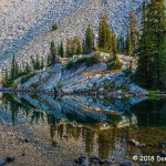 1st Place Scenic - Alpine Reflection by Don Thompson