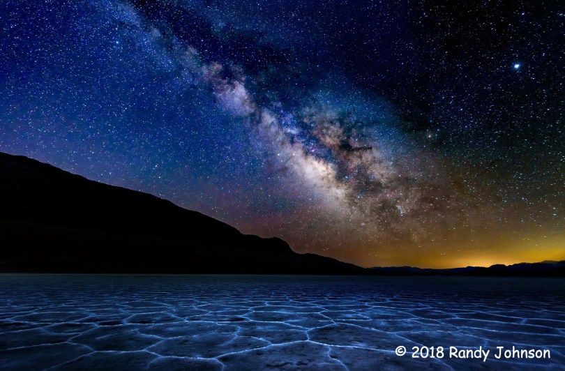 1st Place Scenic - Milky Way Over Badwater by Randy Johnson