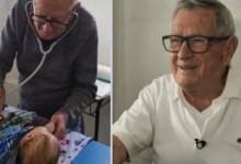 Photo of Παιδίατρος 92 χρονών εξετάζει φτωχά παιδιά δωρεάν – «Θα πεθάνω προσφέροντας» λέει ο ίδιος