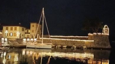 Photo of Χριστουγεννιάτικο και γιορτινό το λιμάνι της Ναυπάκτου (Εικόνες)