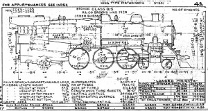 Steam Lootive Diagrams  Class Q5 Diagram 1949