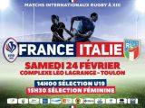 Doppia sfida internazionale per l'Italia League: la nazionale femminile e l'U19 sfidano la Francia