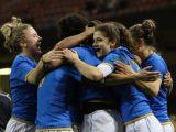 Italdonne, storica vittoria a Cardiff