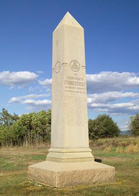14th Connecticut Infantry Monument Antietam National