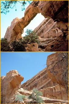 Арка Wall Arch в парке Арки