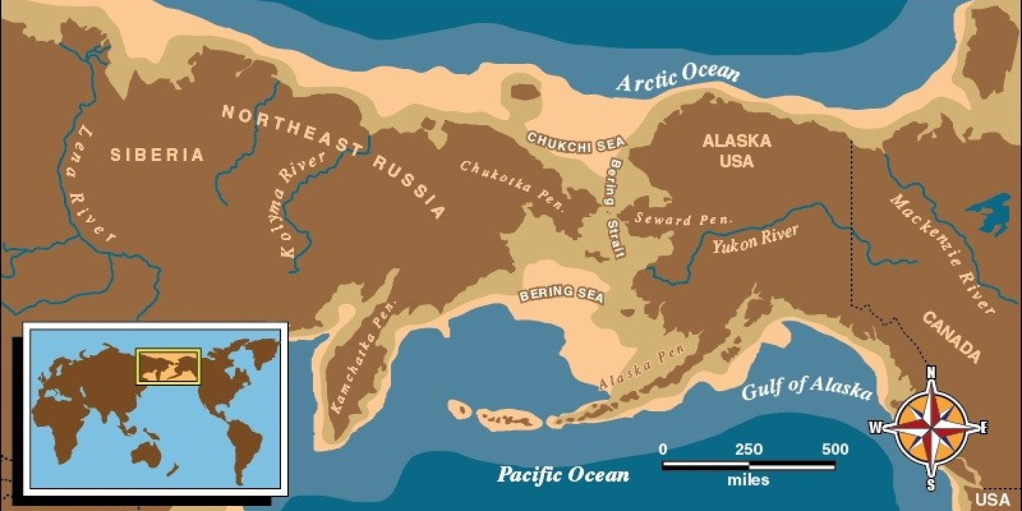 The Bering Land Bridge Theory