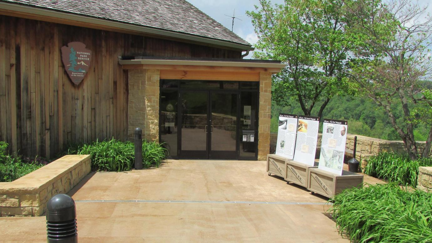 Visitor center of the Johnstown Flood National Memorial