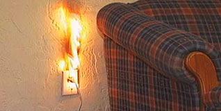 Hasil gambar untuk electrical fire