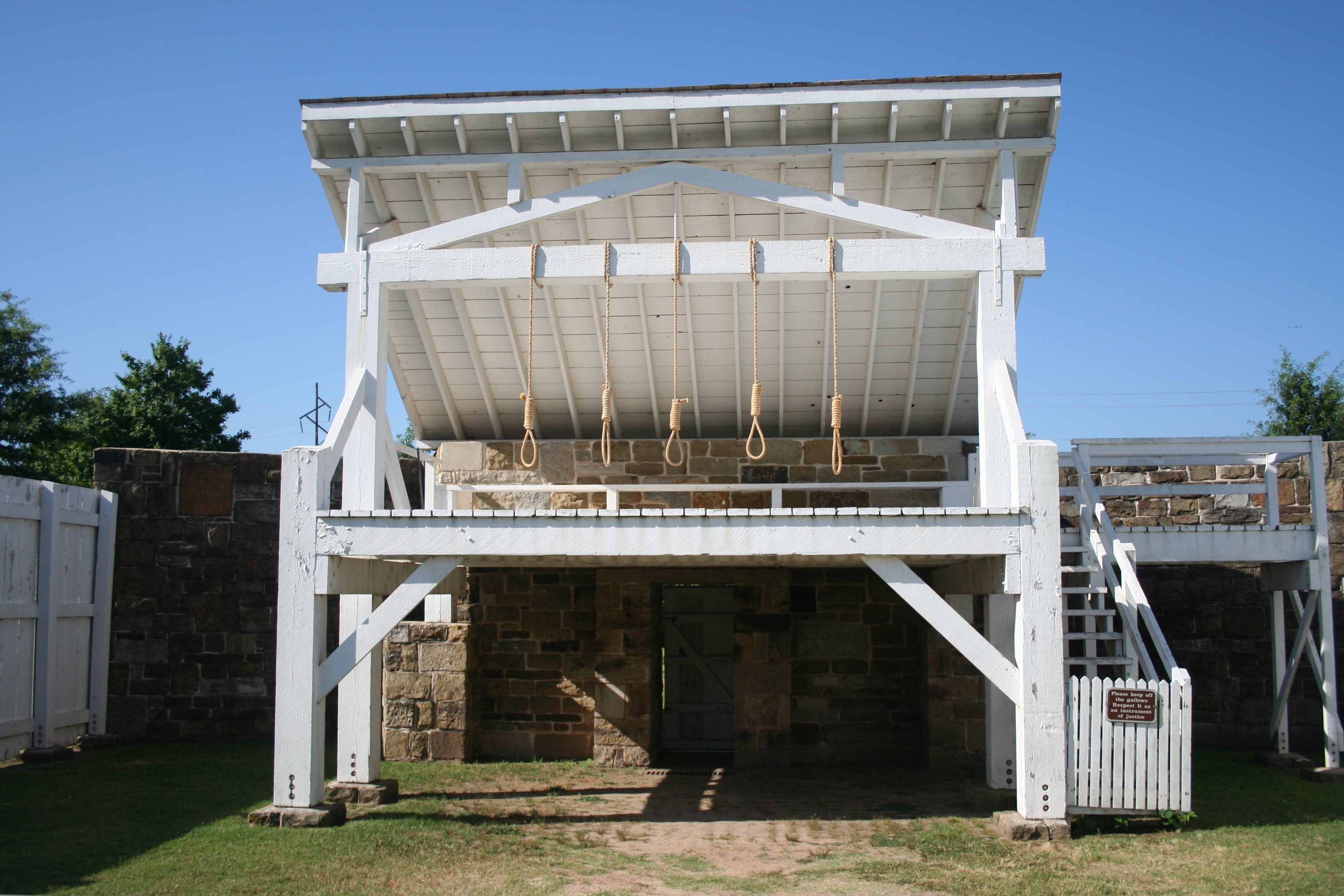 Ft. Smith gallows.