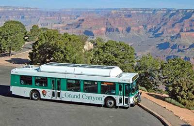 Kaibab Rim Route Shuttle Bus - Grand Canyon National Park (U.S. ...