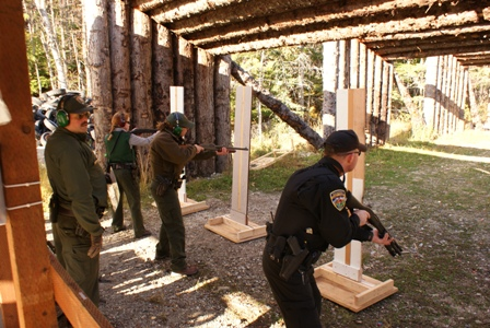 Law Enforcement Rangers Host Interagency Training With