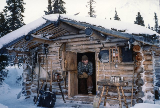 Image result for THIS MAN LIVED ALONE FOR NEARLY 30 YEARS IN THE MOUNTAINS OF ALASKA IN A LOG CABIN WHICH HE BUILT WITH HIS OWN HANDS…