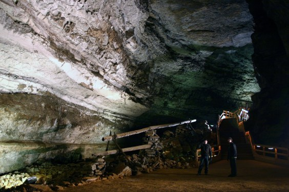 1812 saltpeter works in Mammoth Cave