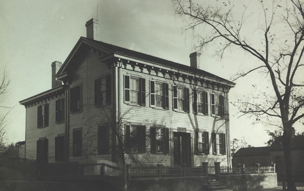 Lincoln family home in springfield, Illinois