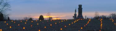 Antietam Memorial Illumination