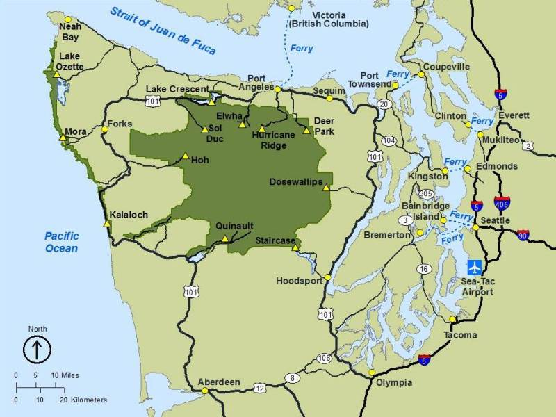 Getting Around   Olympic National Park  U S  National Park Service