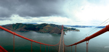 Golden Gate National Recreation Area, one of a few National Parks in urban centers.