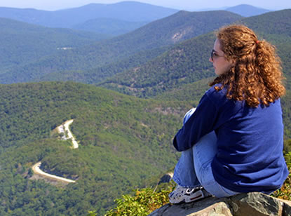 Enjoying the Blue Ridge Mountains -- NPS Foto