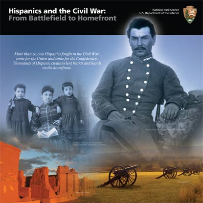 Hispanics in the Civil War Cover
