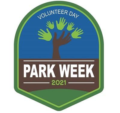 National Park Week 2021 Volunteer Day logo