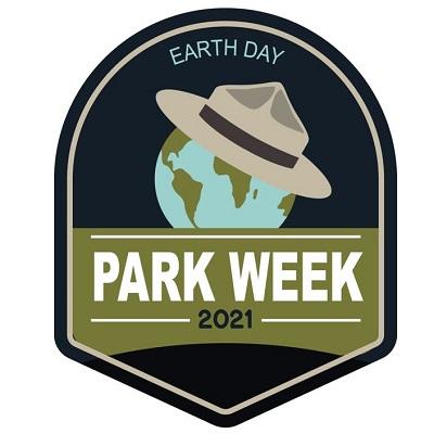 National Park Week Earth Day 2021 Logo