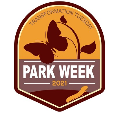 National Park Week Transformation Tuesday 2021 Logo
