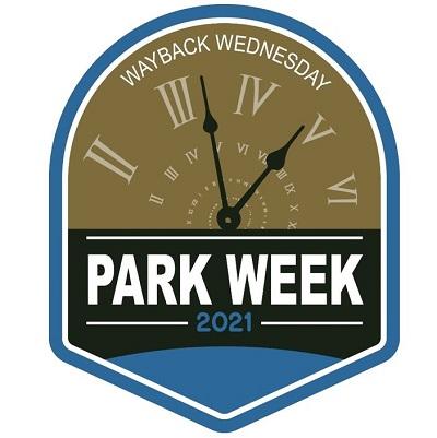 National Park Week Wayback Wednesday logo