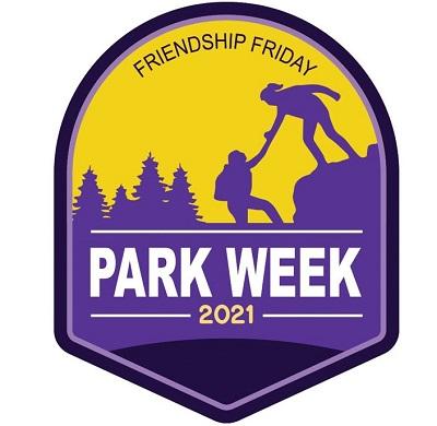 Logo for National Park Service Friendship 2021