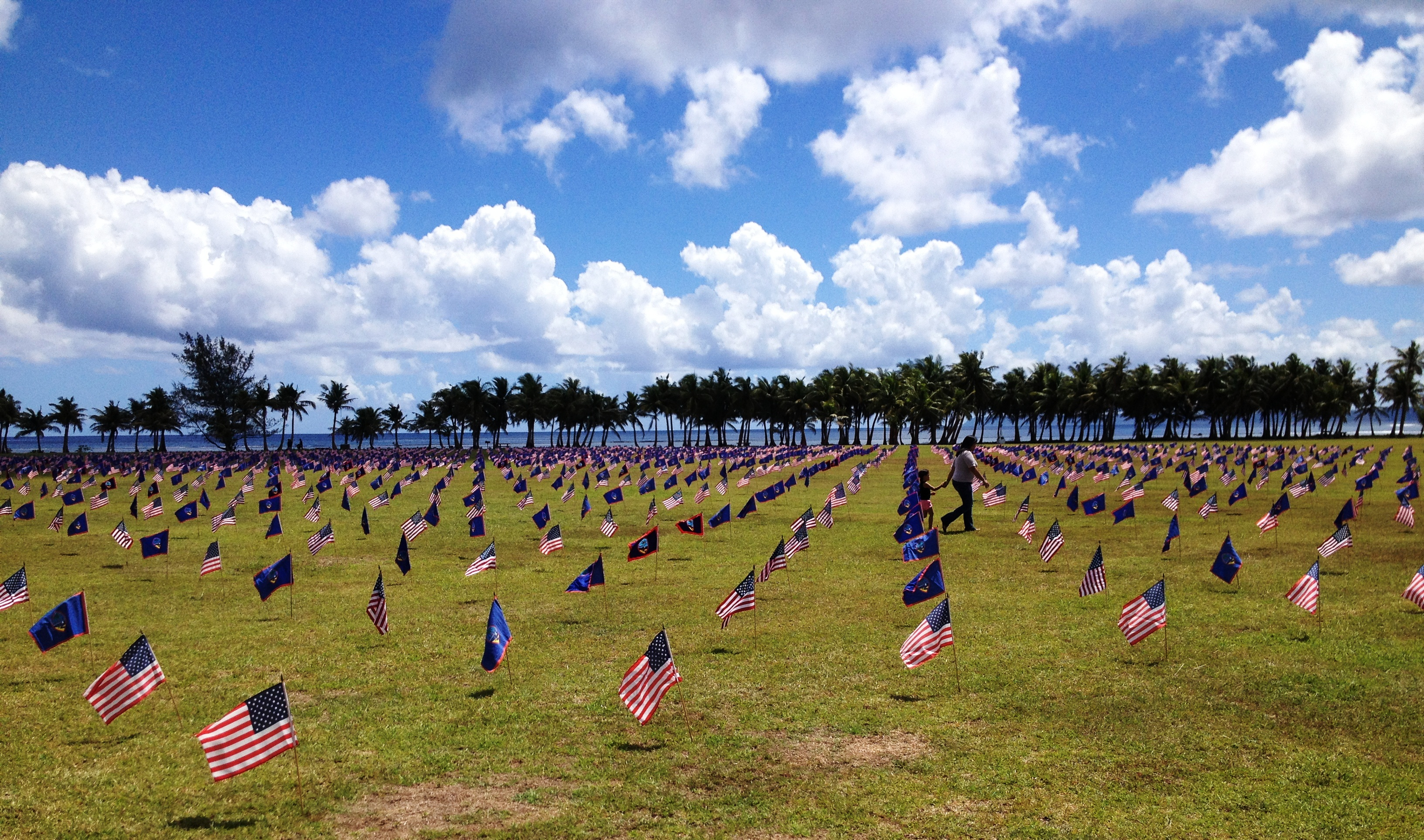 Park To Host Memorial Day Flag Display