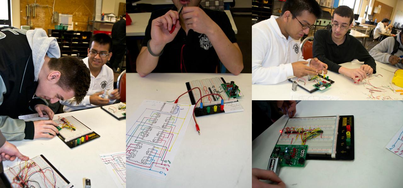 PLTW Engineering Photos