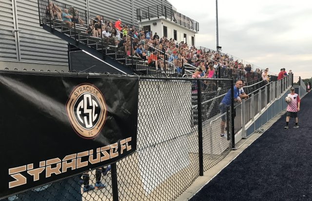 Season-High Crowd on Hand for 7-1 Syracuse FC Win – National