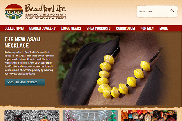 Beads for Life Online Store