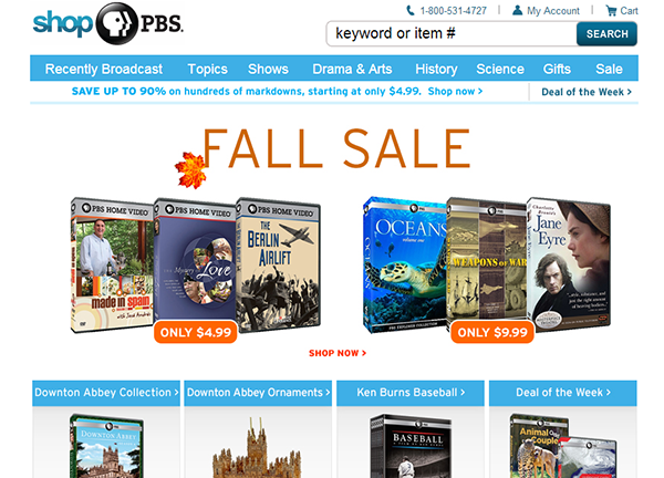 PBS Store