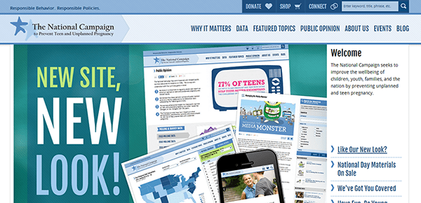 national campaign responsive