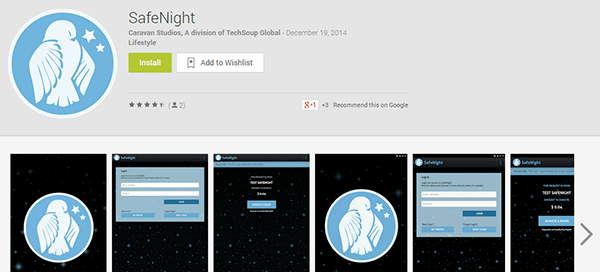 safe night google play
