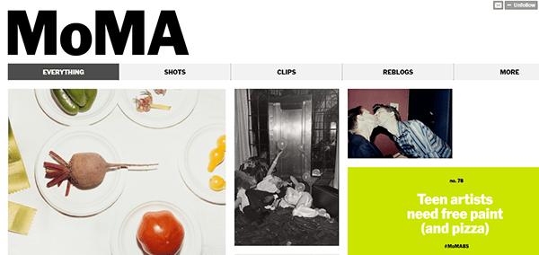 MOMA Tumblr