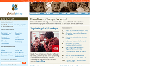 Global Giving 2005 2