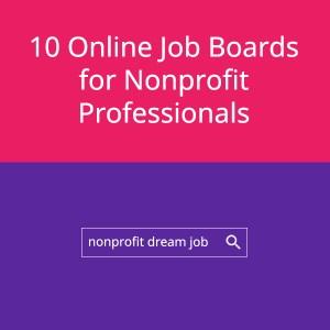 10 Online Job Boards for Nonprofit Professionals Square