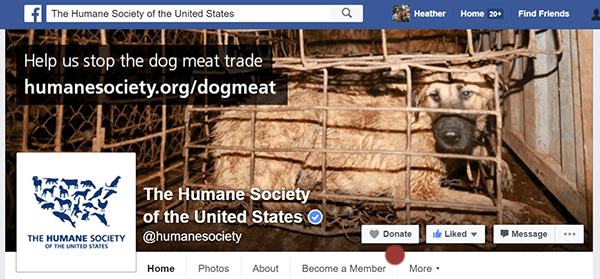 Humanse Society Facebook