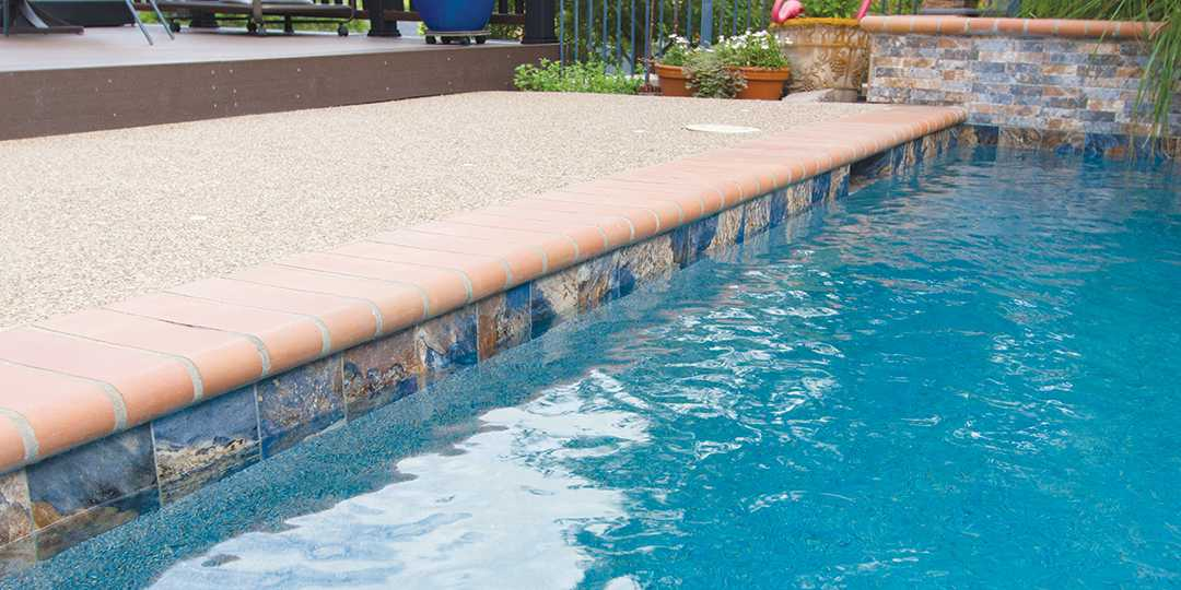 Fujiwa- Glasstel Tahoe 30 Pool Surface. Tile Series Ridgeline Nptpool Com