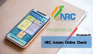 NRC Assam Online Check
