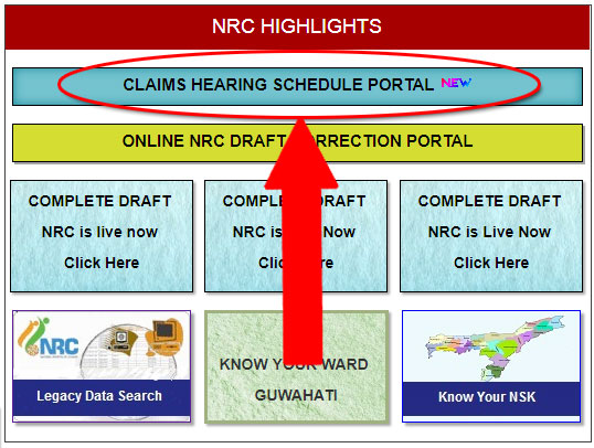 NRC Hearing Claims & Objections