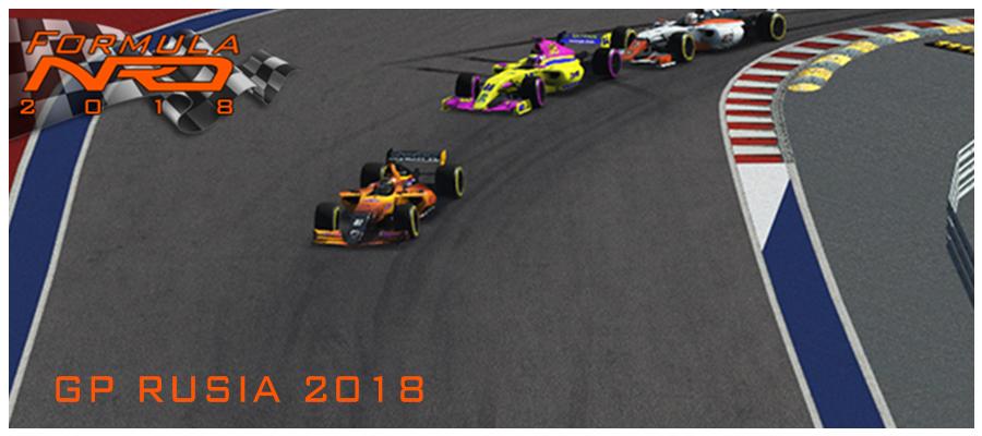 Salida GP Rusia, Sochi 2018.