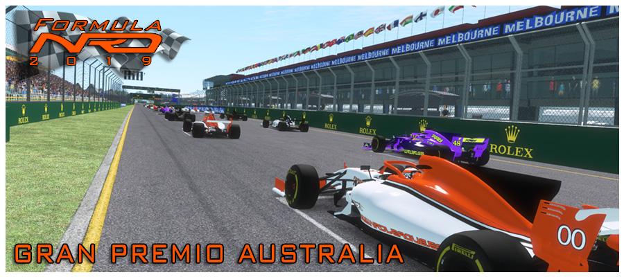 GP Australia Pole Lap, Salida 1 vuelta.