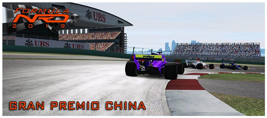 Gran Premio China Salida 1º vuelta