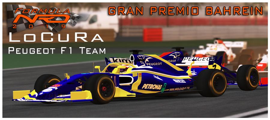 GP Bahrein, LoCuRa sufre pero gana en Sakhir