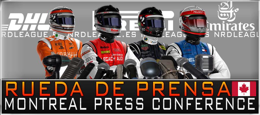 Rueda de Prensa GP Canadá
