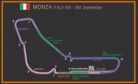 Gran Premio de Italia @ Circuito Monza 37 vueltas